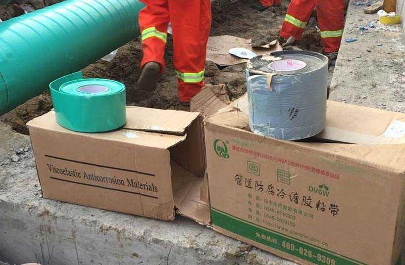 粘弹体胶带被武汉至信阳成品油管道工程采用