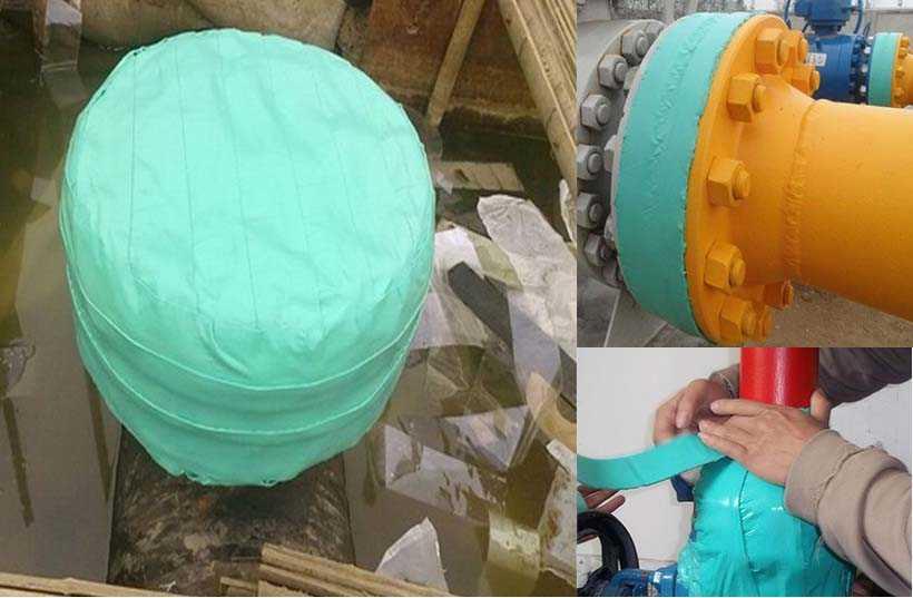 粘弹体防腐膏应用于管件