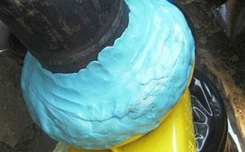 粘弹体胶带专用于管道补口修复和填补异形构件防腐