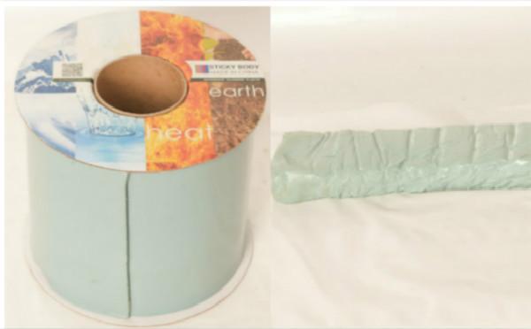 粘弹体胶带和粘弹体防腐膏施工现场应用